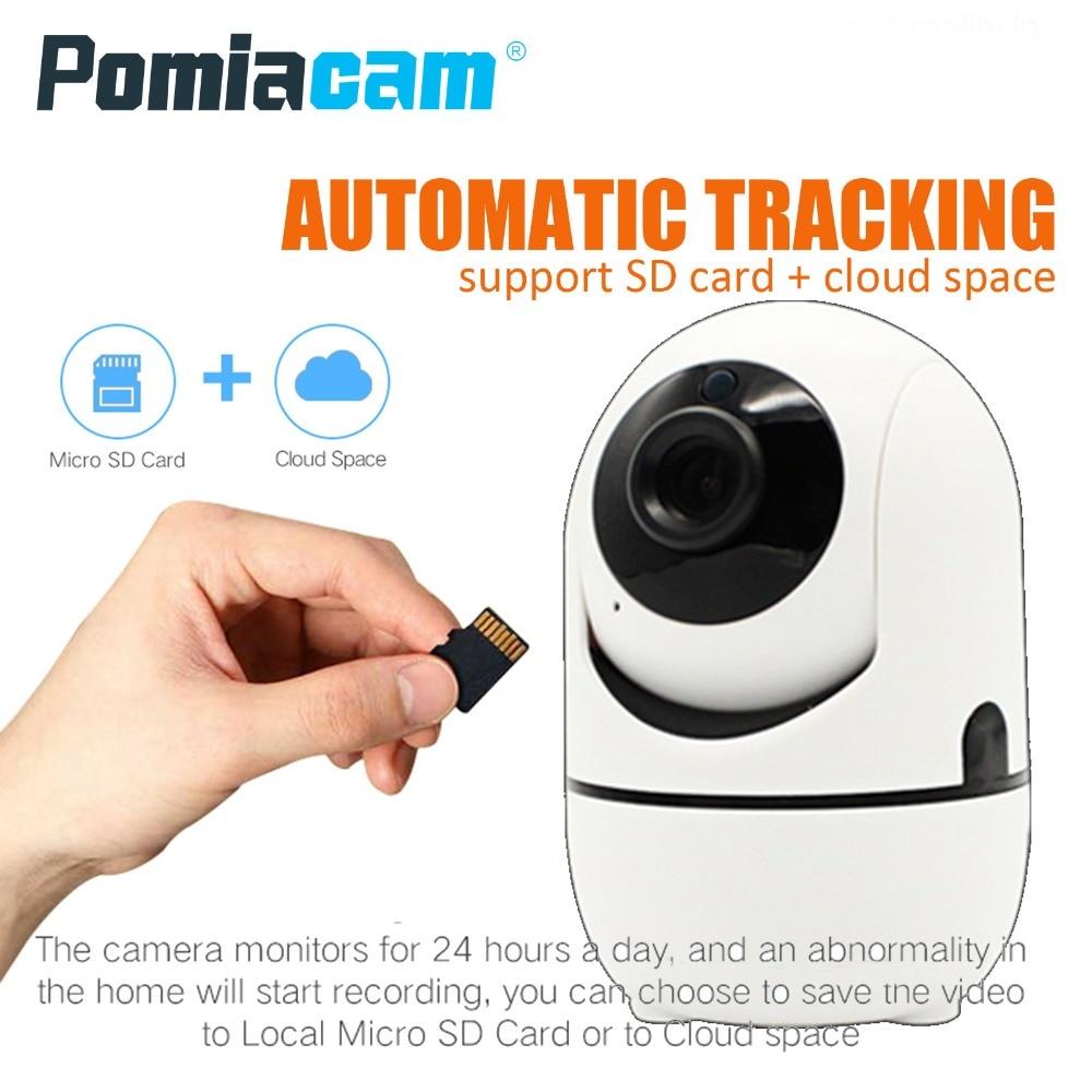 8600Z 1080P wifi ip camera mini wireless ip camera sd card auto tracking wifi camera ptz 360 surveillance camera baby caring цена