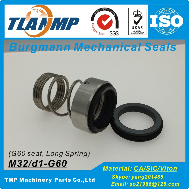 Shaft Size: 28/32/33/38/45/48/55mm BURGMANN-1.4401/1.4571 Mechanical Seals For High Temperature Hot Oil Pumps TLANMP M32 Series