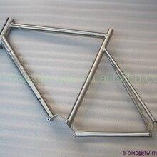 Титановая рама для велосипеда с коробкой передач на заказ Titan односкоростная велосипедная Рама с конической головкой Высококачественная рама для дорожки
