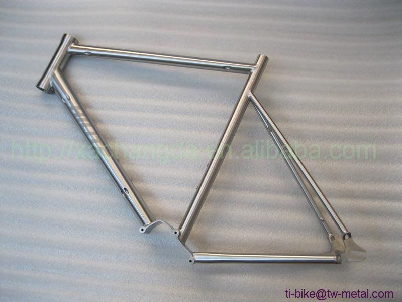 Titanium Track Bicycle Frames with Gear Box Custom Titan Single ...