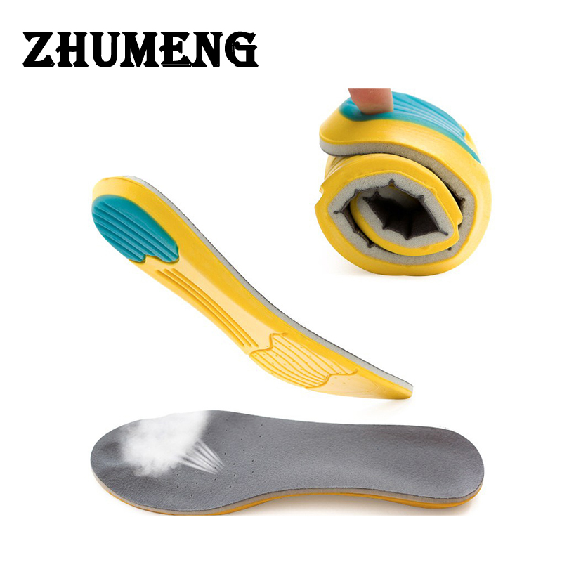 ZHUMENG Insole Shoes Foot Care Pads for Foot Pain Relieve Height Increase Comfortable Shoe Insoles for Men Women Memory Cotton 2017 spring and autumn hot selling women s comfortable diabetic shoes foot swollen foot care shoe breathable flat bunion shoes