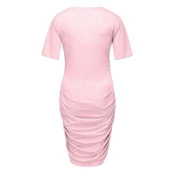MUQGEW Summer Maternity Dresses for Pregnancy 2