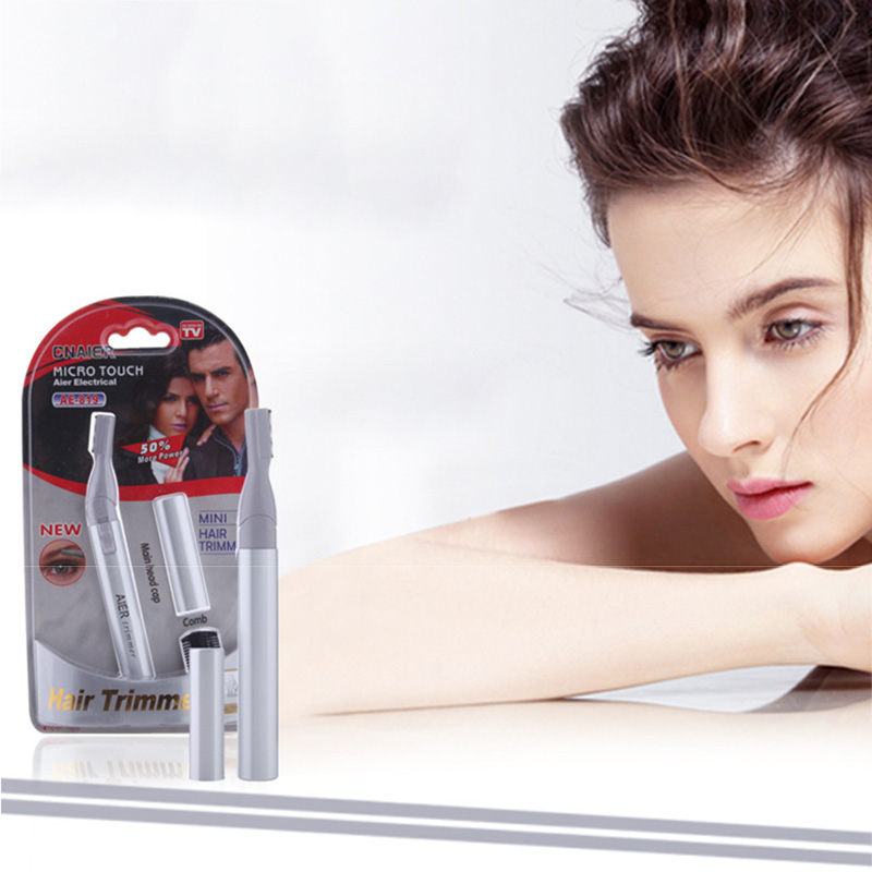 2018 Electric Eyebrow Trimmer for Women Lady Facial Body Shaver Hair Remover Shaper Bikini Razor