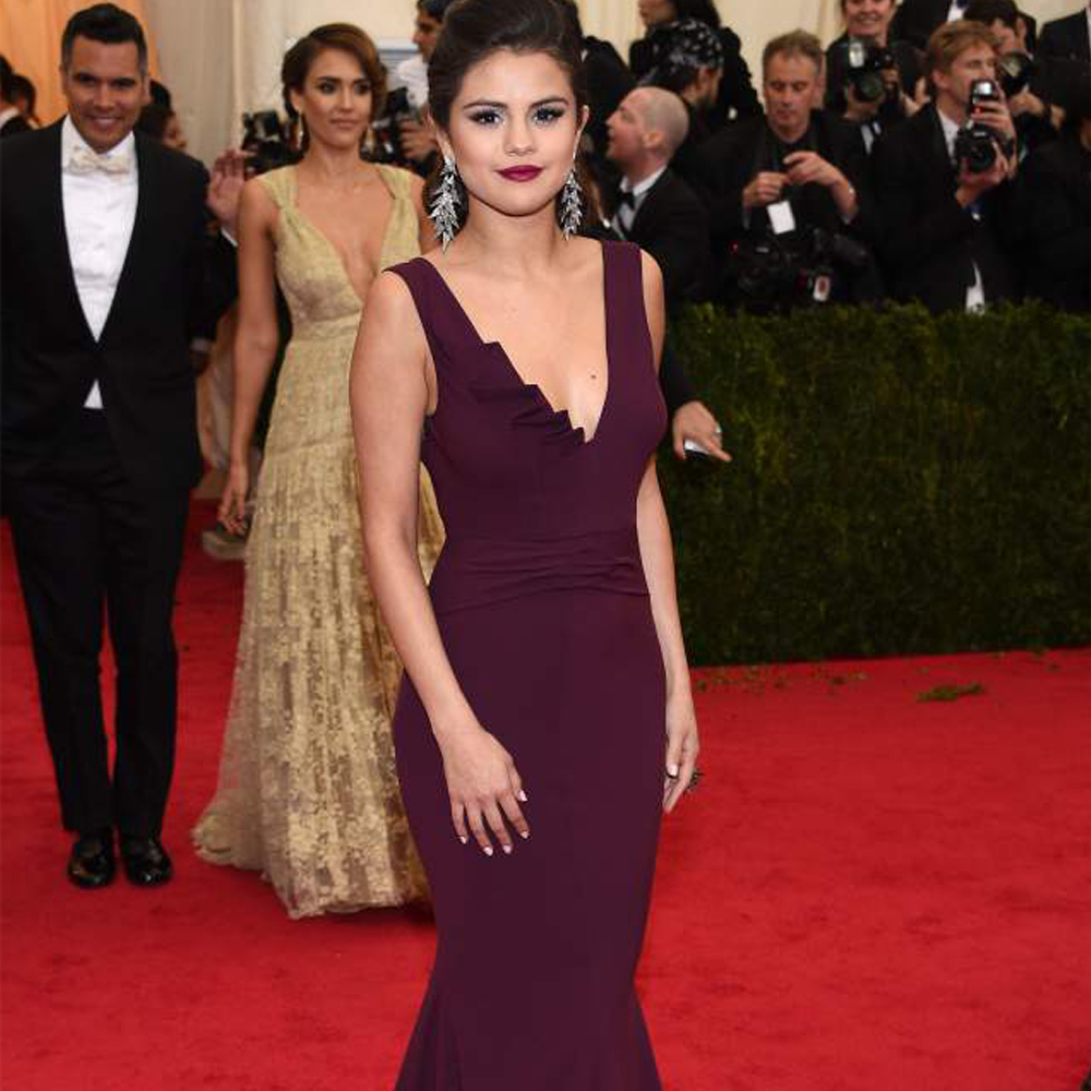 Aliexpress.com : Buy Custom Made Met Gala Selena Gomez Red Carpet ...