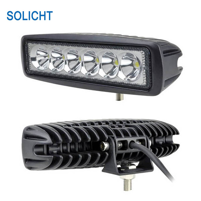 4wd Light Bars Solicht 2pcs 6 inch mini 18w led light bar ip67 4x4 4wd tractor solicht 2pcs 6 inch mini 18w led light bar ip67 4x4 4wd tractor car audiocablefo