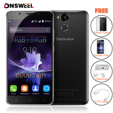 Blackview P2 4G 64G P2 Lite 3G 32GB smartphone Android 6 0 Cell Phone MT6750T Octa