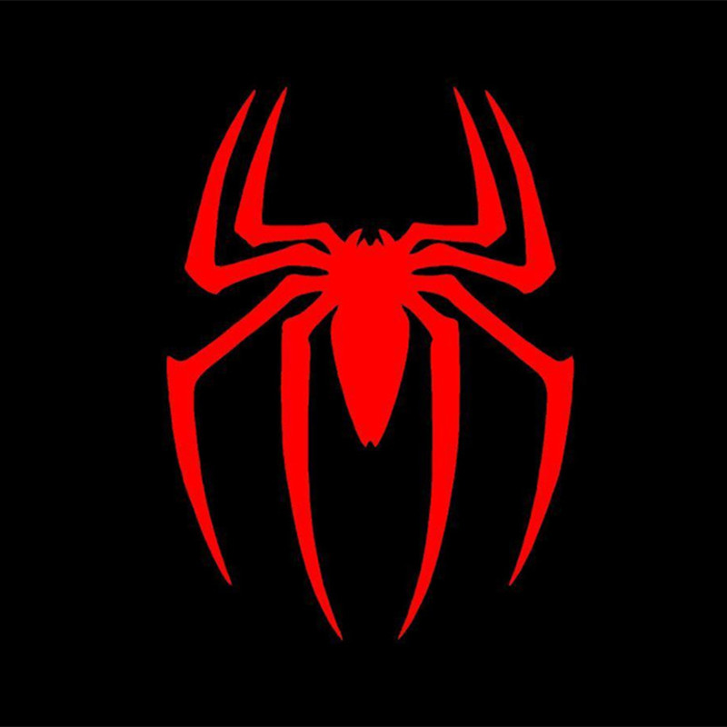 Compare Prices On Spiderman Logo Sticker Online Shopping