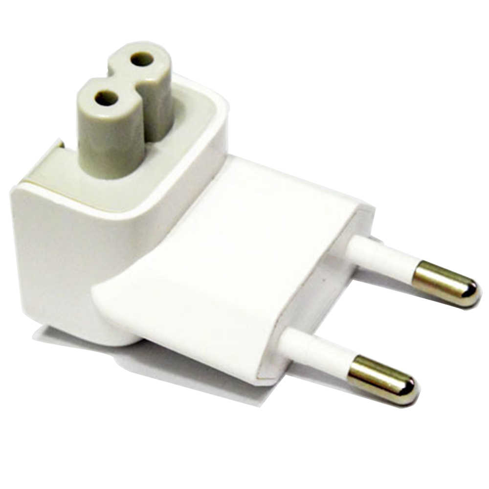 LYBALL EU Konverter Travel Power Plug Adapter AC Abnehmbarem Steckverbinder Elektrische Ente Kopf für Apple iPad iPhone MacBook