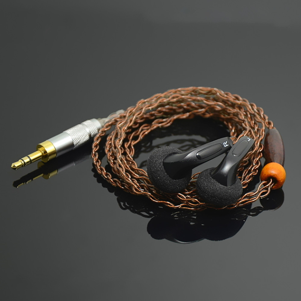 New Arrival FENGRU DIY MX500 In-ear Earphones Flat Head Plug DIY Earphone HiFi Bass Earbuds DJ Earbuds Heavy Bass Sound Quality newest faaeal 64 ohms snow lotus 1 0 1 0 plus silver plated wire diy heavy bass sound quality music earphones hifi earbuds mx500
