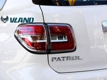 VLAND manufacturer for Car head lamp for Patrol LED Headlight 2008-2016 for Patrol Y62 Head light with led running light bar