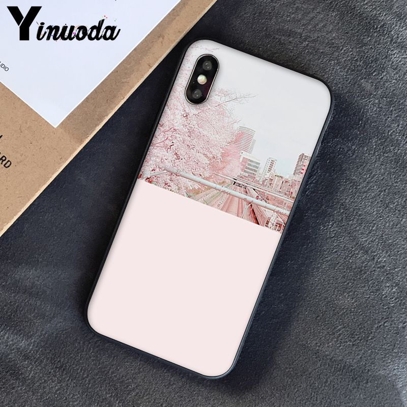 Yinuoda, розовый, эстетический, песни, лирика, эстетический, мягкий силиконовый чехол для телефона, чехол для iPhone 8, 7, 6, 6 S, 6 Plus, X, XS, MAX, 5, 5S, SE, XR, 10 - Цвет: A16