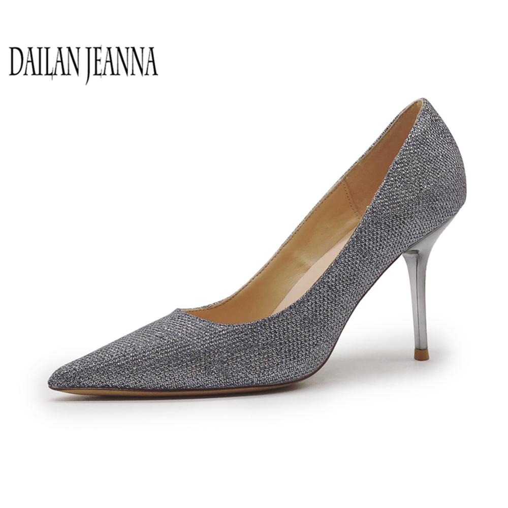 Pumps Wedding Shoes Women 2018 New High Heeled Shoes