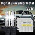 G55 5000 K lámpara de Xenón hid xenon conversion kit envío libre kit 55 W H3 12 V 24 V 3000 K 4300 K 5000 K 6000 K 8000 K 10000 K HID KIT