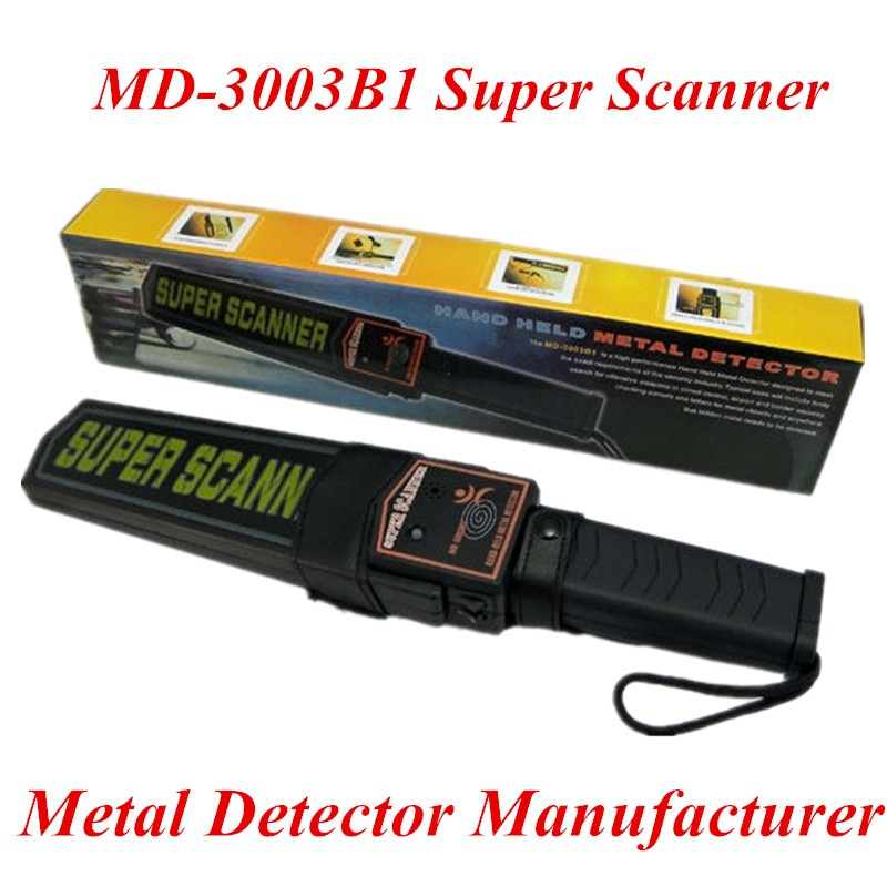 Wholesale handheld security metal detector Sound mode portable security scanner MD-3003B1 metal detector