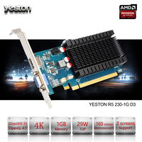 Yeston Radeon R5 230 GPU 1GB GDDR3 64 Bit Gaming Desktop Computer PC Video Graphics Cards