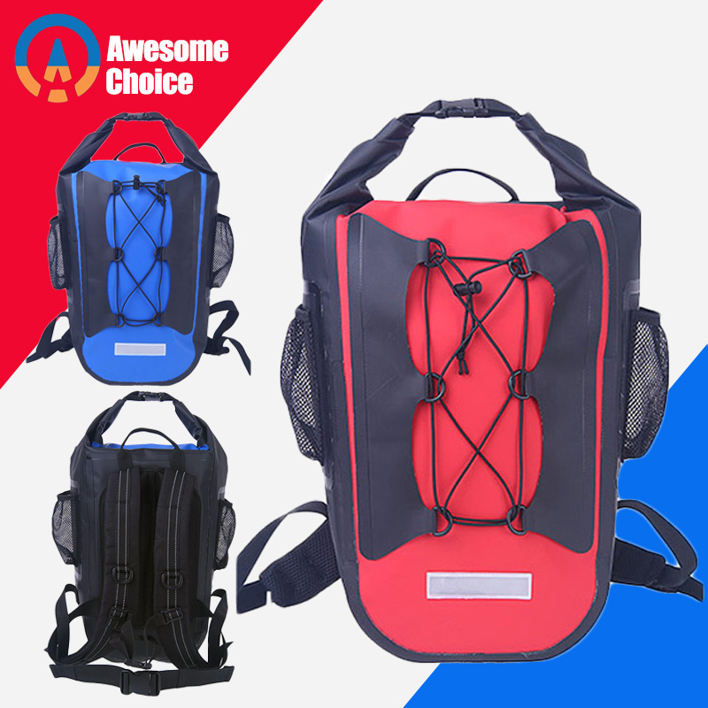 Ultralight Swimming Bag 30L Dry Heavy Duty Outdoor Nylon Kayaking River Storage Drifting PVC Waterproof Rafting Bag