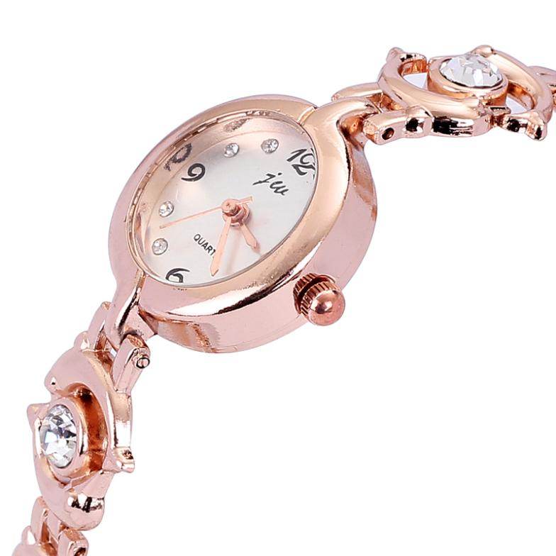9b3267d41 Ladies bracelet king girl watch quartz luxury crystal diamonds dolphin  design chain round dail with s dropship wholesale-in Women's Watches from  Watches on ...
