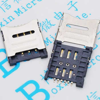 3000PCS Micro SIM Card Holder 6P SIM Card Slot 6PIN Card Slot SIM Card Holder - DISCOUNT ITEM  24% OFF All Category
