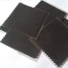 Emballage en Micro daim OPP, 200 pièces/lot, blanc, gris, noir, argent, bijoux, chiffon de polissage et de nettoyage, vêtements, Logo imprimé personnalisé