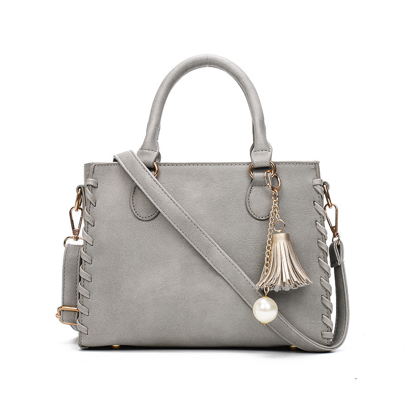 Mode femmes en cuir sac capote poignée femmes sacs à main sac à bandoulière pour 2019 luxe gland perle dames sacs à bandoulière