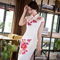 2016 winter chinese oriental dresses oriental styled dresses lotus modern qipao dress ladies elegant modern cheongsam