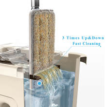Spray Magic Automatic Spin Mop Avoid Hand Washing Ultrafine Fiber Cleaning Cloth Home Kitchen Wooden Floor Lazy Fellow Mop