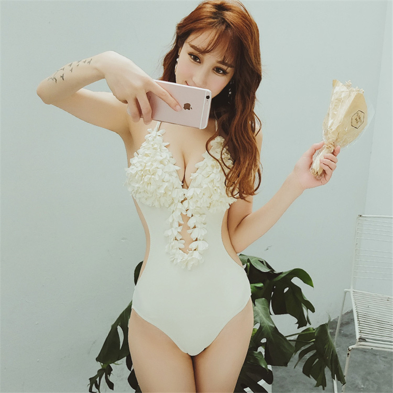 2017 One Piece Swimsuit Sexy Swimwear Women Summer Beach Wear Bathing Suit Bandage Backless Halter Top Swimsuit brazilian bikini one piece swimsuit sexy swimwear women 2017 summer beach wear bathing suit bandage backless halter top monokini bodysuit