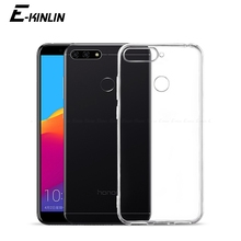 Clear Silicone Phone Case For HuaWei Honor 9X Premium 9A 9C 8A 8C 8X 8S 7A 7C 7S 7X 6C 6A 6X 8 V9 Pro Play Global Soft TPU Cover dreamfox m155 wu tang killa bees hip hop soft tpu silicone case cover for huawei honor 6a 6c 6x 7a 7c 7s 7x 8 lite pro