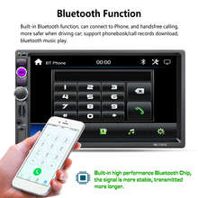 Vehemo 2 Din Touch Screen Premium Smart Car MP5 Navigation Music MP5 Player RDS Car Kit