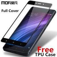 Xiaomi Redmi 4 Pro Prime Tempered Glass MOFi Redmi 4 Pro Prime Glass Screen Protector Full