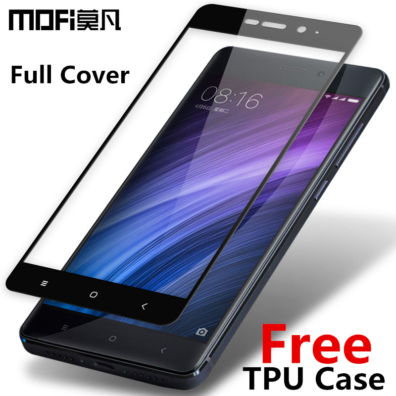 MOFi Redmi 4 pro glass tempered 2.5D full cover tempered glass Xiaomi Redmi 4 pro prime screen protector Redmi 4 prime glass