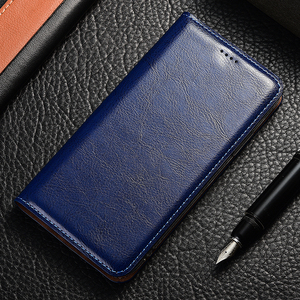 Image 3 - Genuine Leather Flip Case For Samsung Galaxy A10 20 30 40 50 60 70 80 90 e s 5G Crazy horse Holder Back cover bags funda