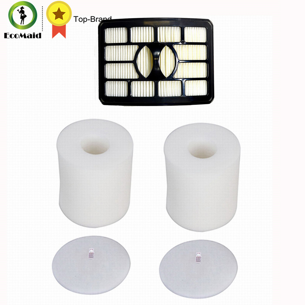 2 Foam & Felt Filters Kit for Shark Rotator Powered Lift-Away NV650 NV650W NV651 NV652 NV750 NV750W NV751 NV752, NV753 Part Tool  rotator