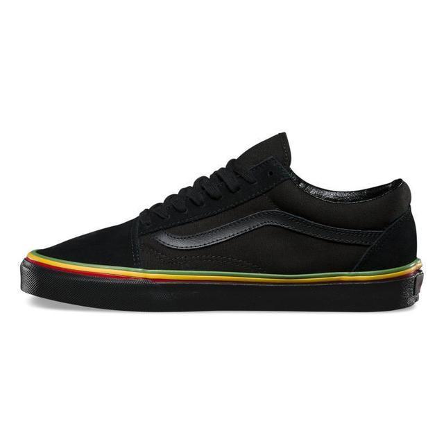 3e66f89bce61 Vans Unisex Authentic Black Canvas Old Skool Classic Low-top Skate Shoe  Punk Men's Women's Athletic Shoes Fencing Flat Shoes