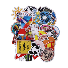 50PCS Anime Stickers for Notebook Scrap Boking Stiker for Children Car-styling Kids Stickers Sheets For Laptop Suitcase Sticker