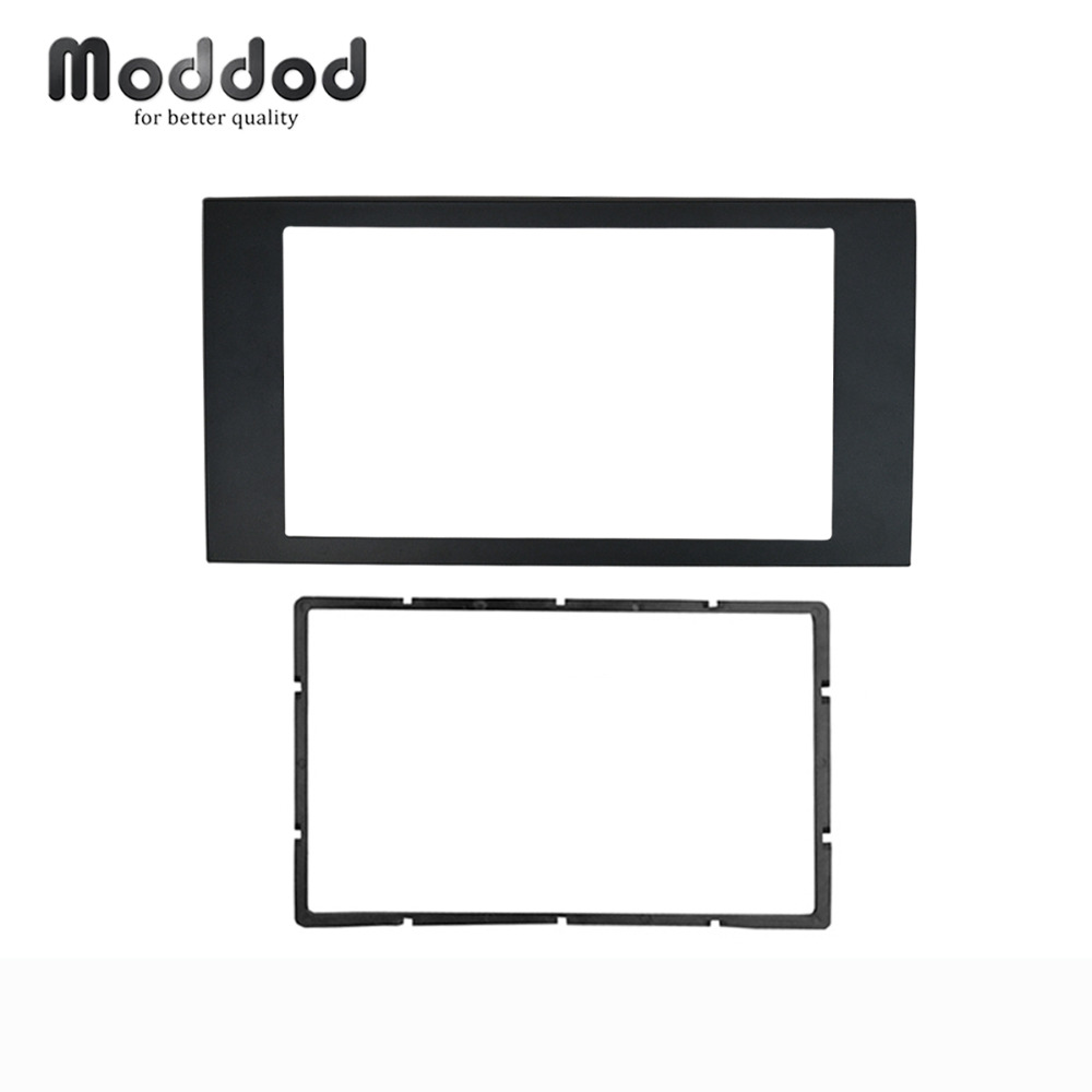 For Ford Focus II C-Max S-Max Fusion Transit Fiesta III Stereo Panel Dash Mount Double Din Fascia Install Trim Kit Refit Frame все цены