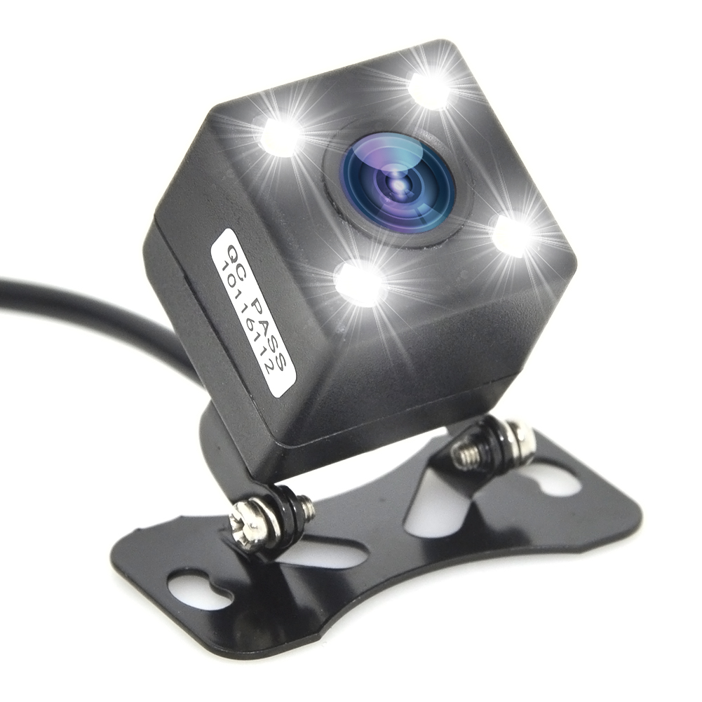 HD CCD 4LED Night Vision Car Rear View Camera 170 Wide Angle Universal Car Reverse Rearview