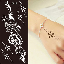 Stencils Glitter Tattoo Face Painting Airbrush Stencil Henna Temporary Paste Transfer Tattoo Body Art Diy Body Paint Template