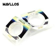 Mavllos 50 m 100 m 100% Monofilament Fluorocarbon Vislijn Vissen Leider Fluorocarbon Lijn Koolstofvezel Spoelbak Lijn Onzichtbaar