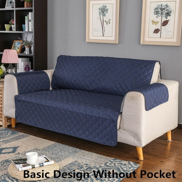Seat Sofa Cover Reversible Couch Chair