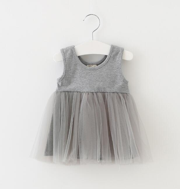 2018 summer baby Birthday Dress Sleeveless Newborn Baby Girl Dress Casual children Dresses For Wedding Party Princess Vestido
