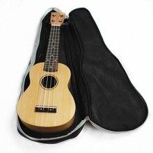 """Hot Sale 21"""" Guitar Ukulele Soprano Concert Tenor Backpack Bag Shoulder Straps Pockets Guitar Accessories"""