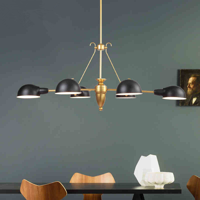 Simple Dining Room Chandeliers Nordic Creative Bedroom Lamp Living Room Lamp Restaurant Lights Retro Bar Lamps Free Shipping simple chandeliers three creative personality chandelier ceiling lights table bar dining room restaurant lights hanging lamps