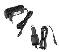 EU Plug 12V 2 58A Wall Home Charging Supply Power AC DC Adapter Car Cigarette Lighter