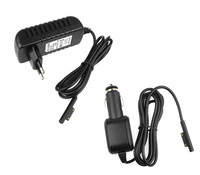 EU Plug 12V 2 58A Wall Home Charging Supply Power AC DC Adapter Car Cigarette Lighter