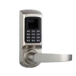 Biometric Electronic Lock Door Lock Fingerprint, Code, Mechanical Key Digital Lock Single Latch Password Lock lk01BS