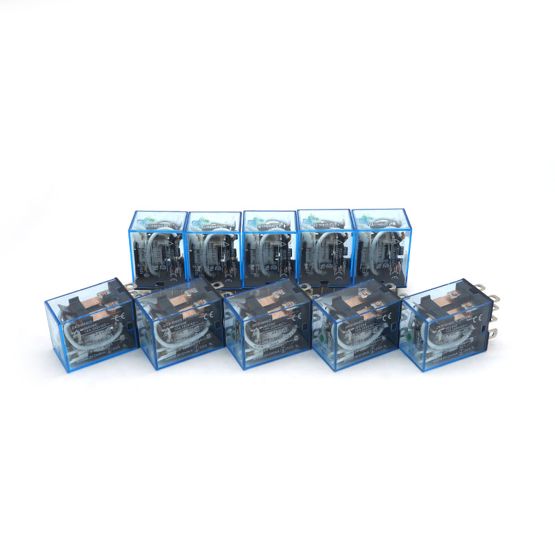 10PCS DC 12V Small Relay Omron LY2NJ DC 10A 8 Pin Coil DPDT NEW