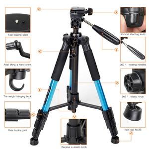 Image 2 - Zomei Q111 プロフェッショナルポータブル旅行アルミカメラ三脚 & なべ一眼レフデジタルカメラの 3 色