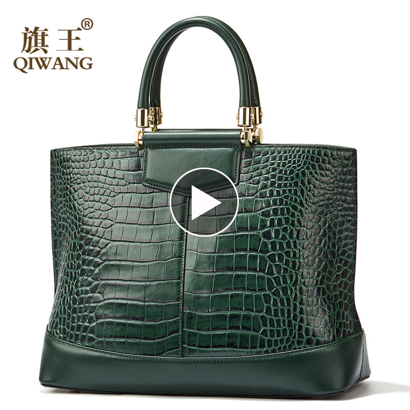 Luxury Green Large Tote Bags Fashion European Brand Designer Real Leather Women Handbags Genuine Leather Tote PurseLuxury Green Large Tote Bags Fashion European Brand Designer Real Leather Women Handbags Genuine Leather Tote Purse