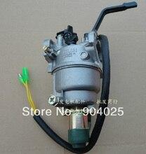 Детали бензинового генератора, 5 шт., блок 188 190F, новый карбюратор, ручной карбюратор
